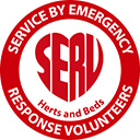 Service By Emergency Herts and Beds logo